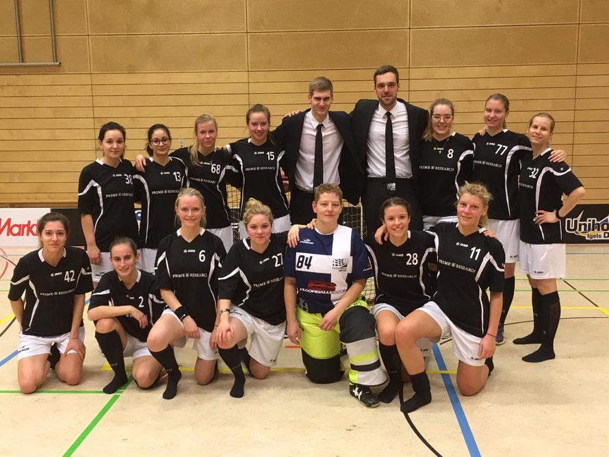 Die Mainzer und St. Wendeler Damenmannschaft zusammen in Dresden