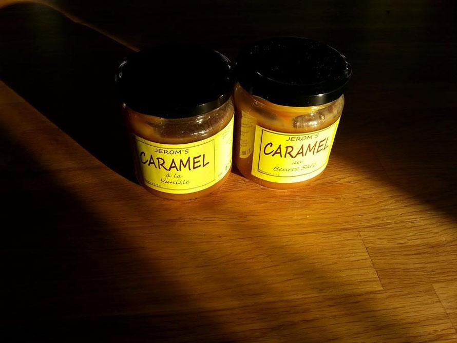 """Caramel au Beurre Salé"". Tegenwoord, gewoon ""Karamel met gezouten boter"""
