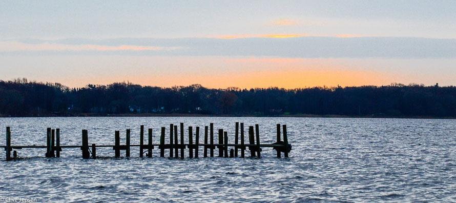 Sonnenaufgang am Zwischenahner Meer (Dreibergen)