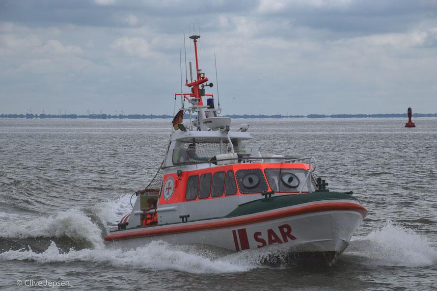 Hilfe ist unterwegs, das Küsten-Rettungs-Team