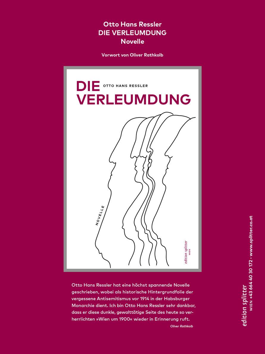 DIE VERLEUMDUNG – Otto Hans Ressler