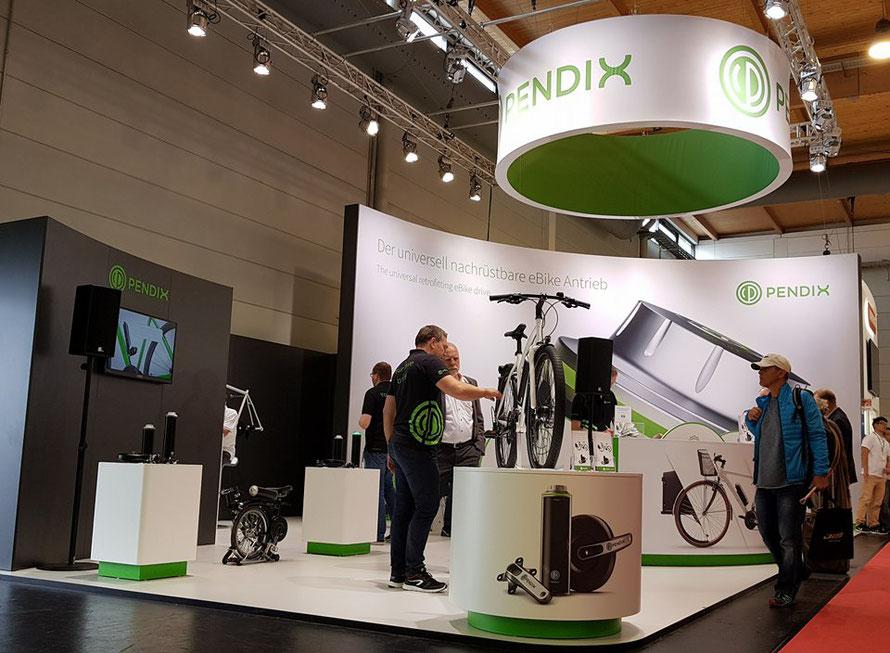 PENDIX eDrive Messestand auf der Eurobike in Friedrichshafen