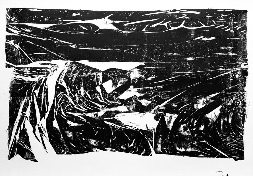 #2B, 2016, ink on paper, 42x59,4 cm