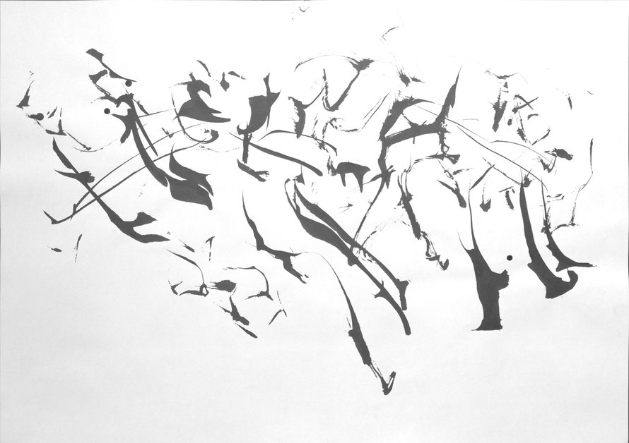 #1, 2015, indian ink on paper, 42 x 59,4 cm