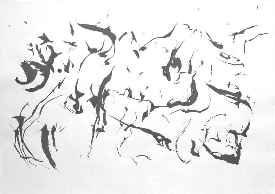 #2, 2015, indian ink on paper, 42 x 59,4 cm