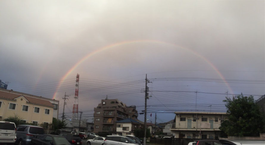 Rainbow Tokyo Akishima nature TAMA Tourism Promotion - Visit Tama 虹 東京都昭島市 自然 多摩観光振興会