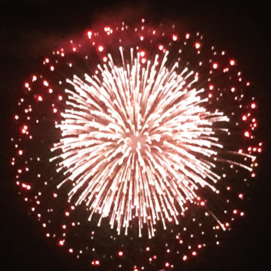 Enjoy summer fireworks in Tokyo Chofu ! festival event