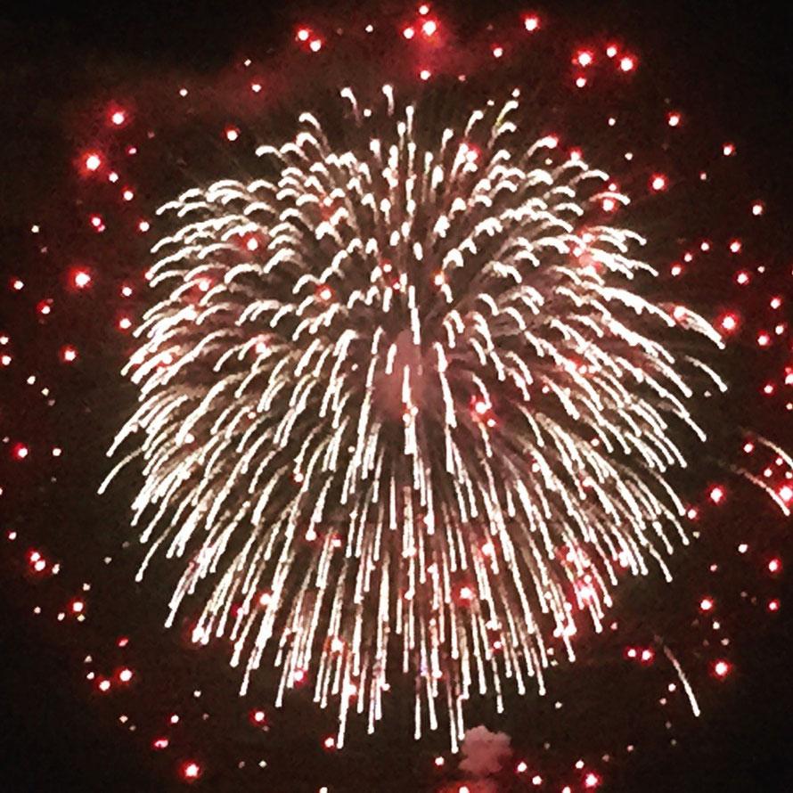 Summer Fireworks in Japan Tokyo Akishima Citizen Whale Festival event Yume Hanabi tourism 日本の夏花火 昭島市民くじら祭り 夢花火大会 東京都昭島市 観光