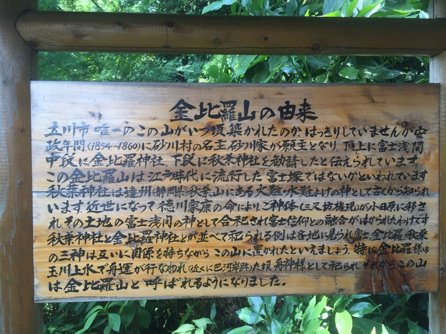 History about Mt. Konpira Tokyo Tachikawa mountain shrine historical spot TAMA Tourism Promotion - Visit Tama 金比羅山の由来 東京都立川市 山 神社 歴史 観光スポット 多摩観光振興会
