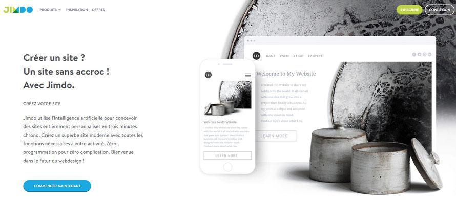créer son site internet tout seul