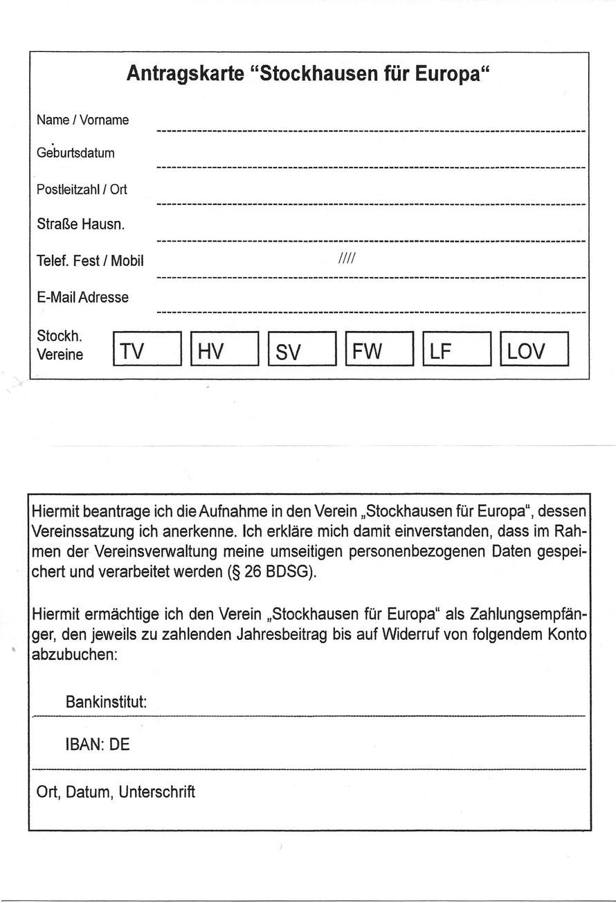 """Offizielles Antragsformular """"Stockhausen für Europa"""" (zum Herunterladen und/oder Ausdrucken)"""