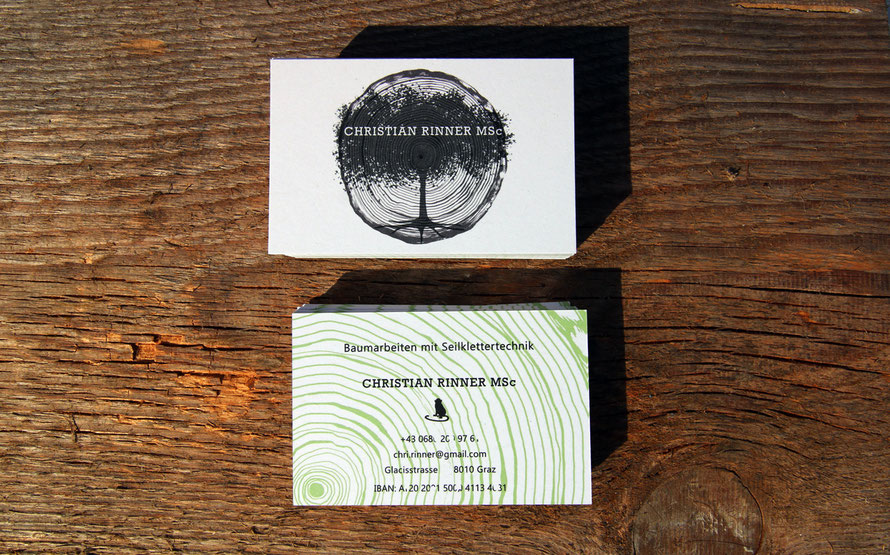businesscards visitenkarten baumarbeit ep