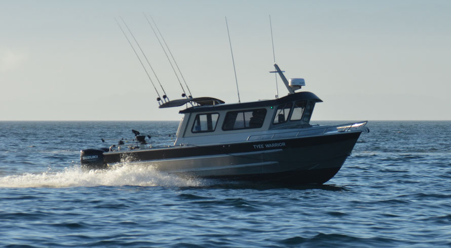 Warrior Fishing Charters, Sooke, BC, Tyee Warrior