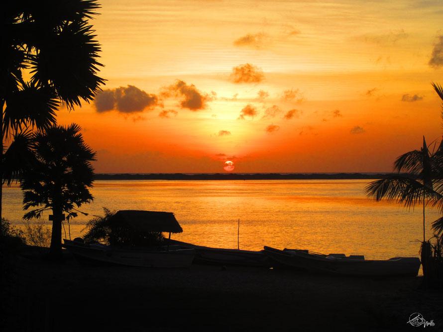 Sonnenuntergang in Kalpitiya / Sri Lanka