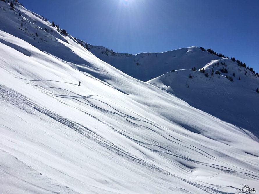 Skiing in Bregenzerwald / Austria