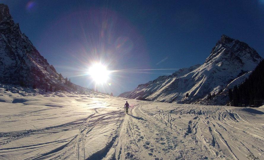 Skitour im Montafon / Österreich
