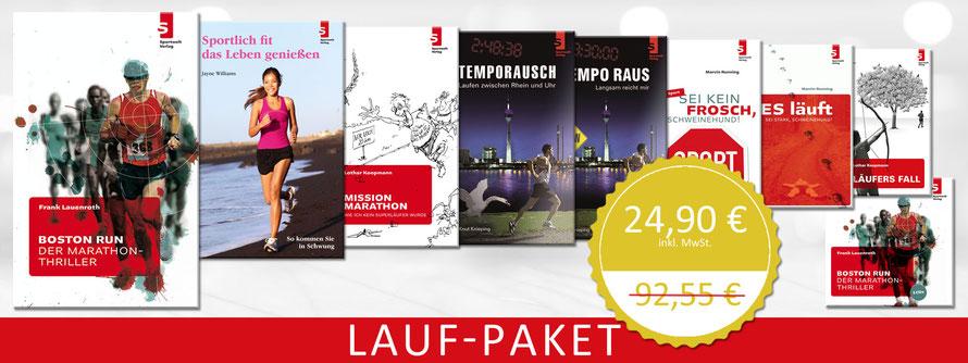 Laufbuch Paket: Laufbücher zum Sonderpreis