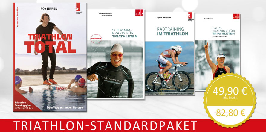 Triathlon-Standardpaket - Triathlonbücher zum Superpreis
