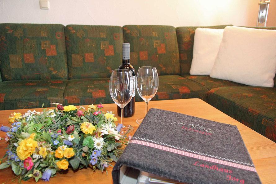 ankommen und entspannen in der Familienwohnung