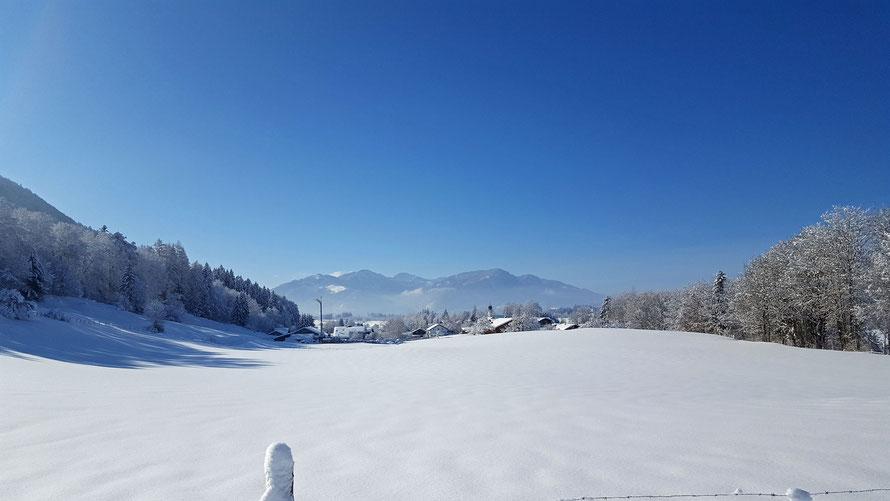 Winterurlaub in Rottach