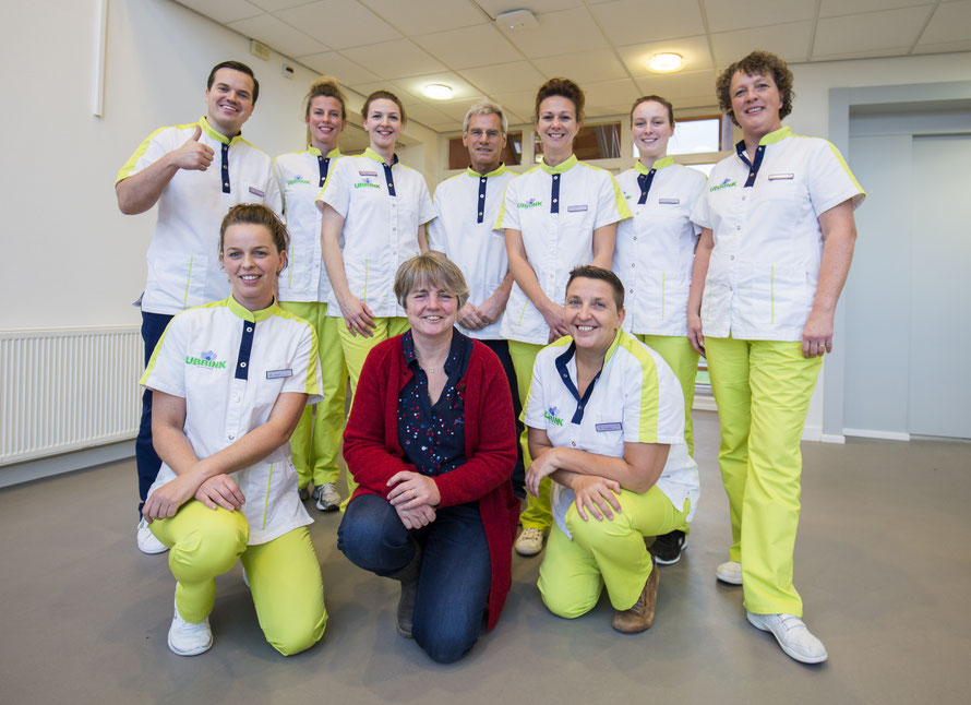 Team tandartsenpraktijk Ubbink in Dokkum