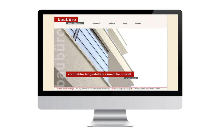Internetseite - baubuero - Manfred Lehniger