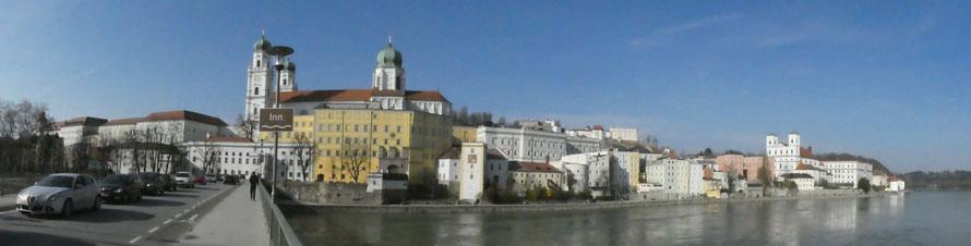 Passau - Ansicht vom Inn