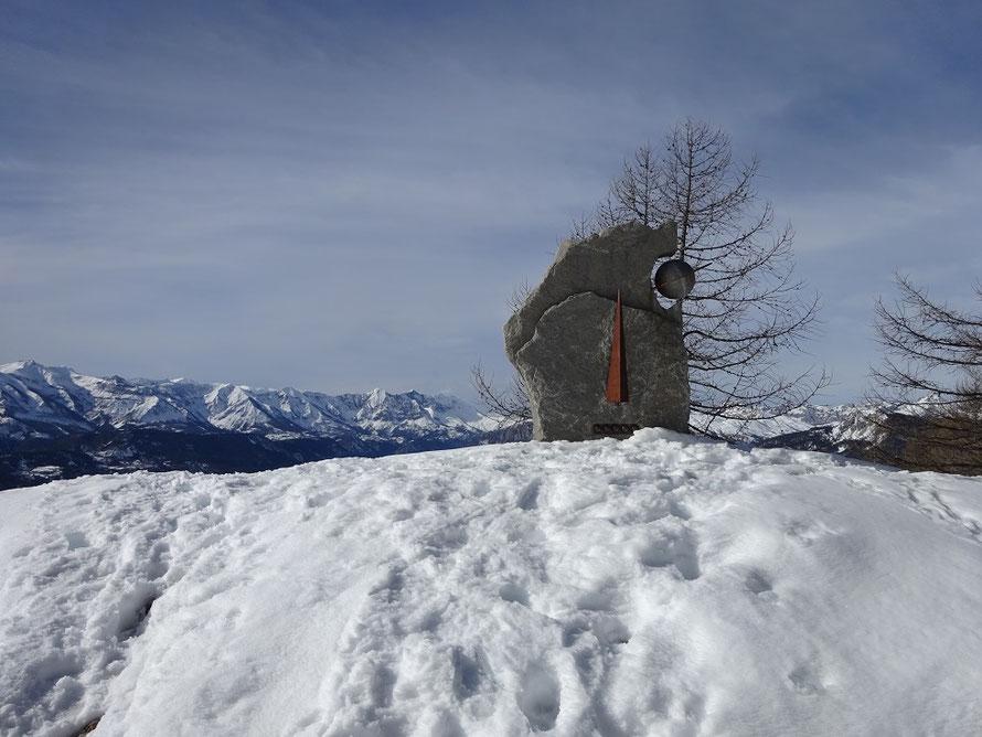 Saturne sous la neige