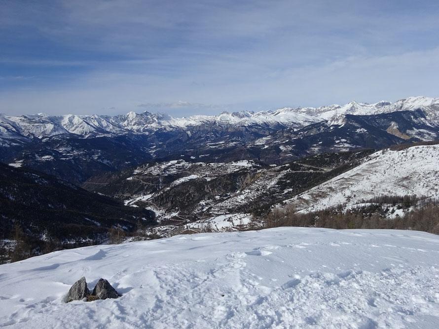 La vue panoramique au sommet
