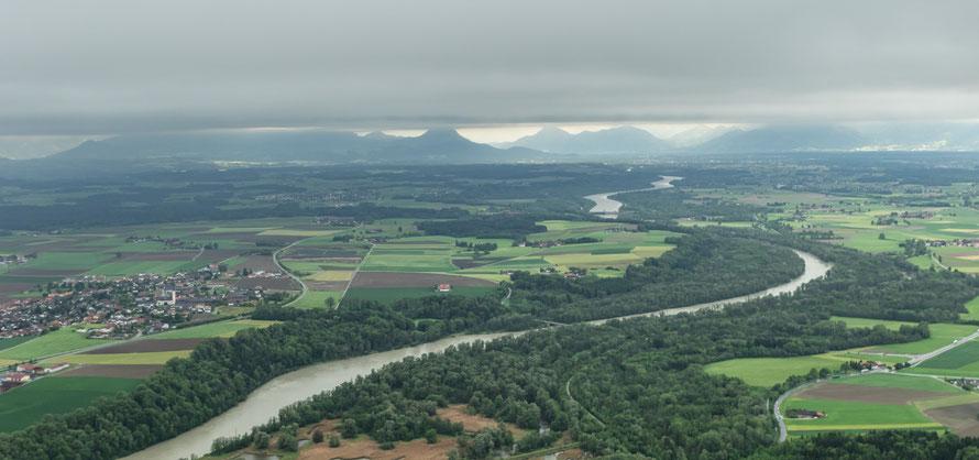 Rückflug nach Vogtareuth