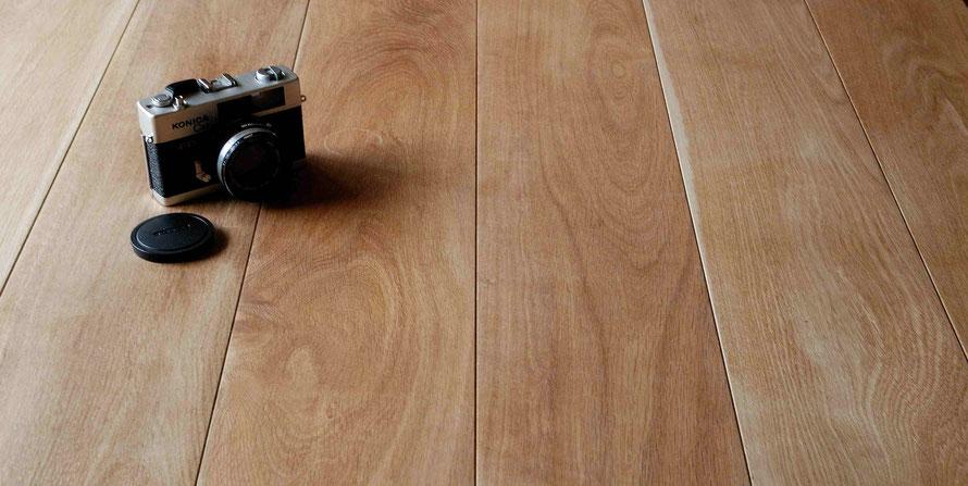 オーク 150幅 幅広 1枚もの ナチュラル アンドウッド 無垢フローリング 新潟 andwood