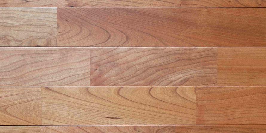 アメリカンブラックチェリー ユニ オイル塗装 無垢フローリング アンドウッド 新潟