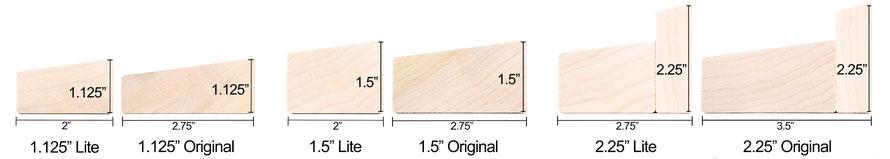 Custom Stretcher Bar Profiles from DoubWorks