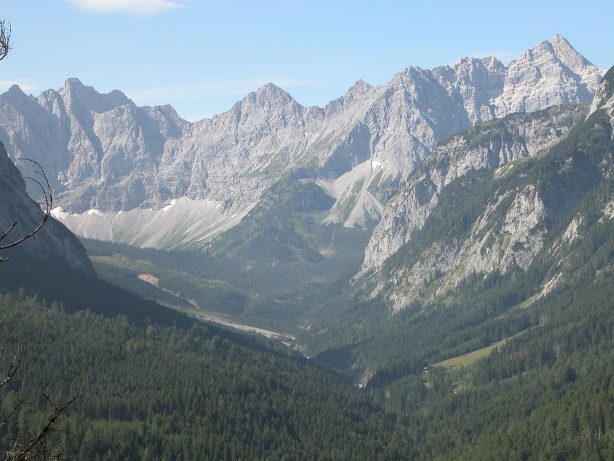 Das Johannistal im Karwendel
