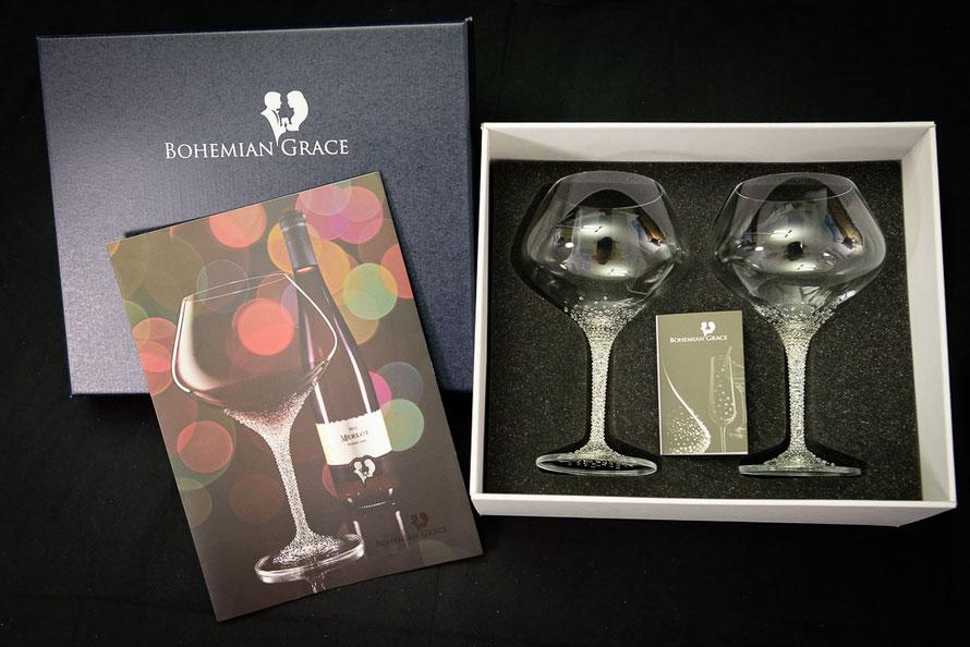 Verpackung Weinglas Poseidon