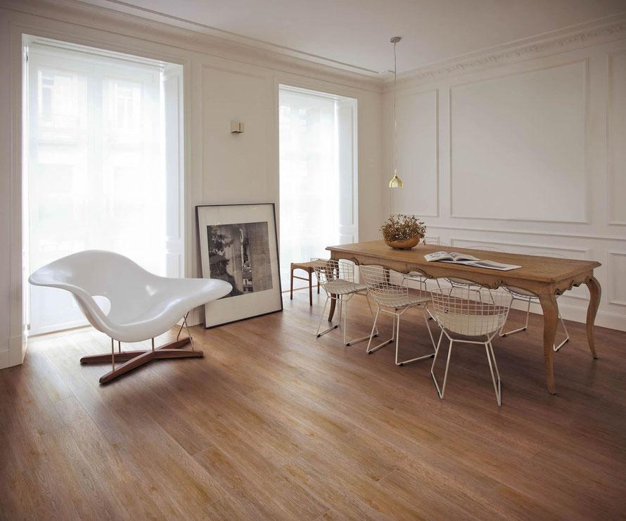 Gres porcellanato effetto legno casaeco pavimenti e rivestimenti in ceramica rubinetterie per - Bagno finto legno ...