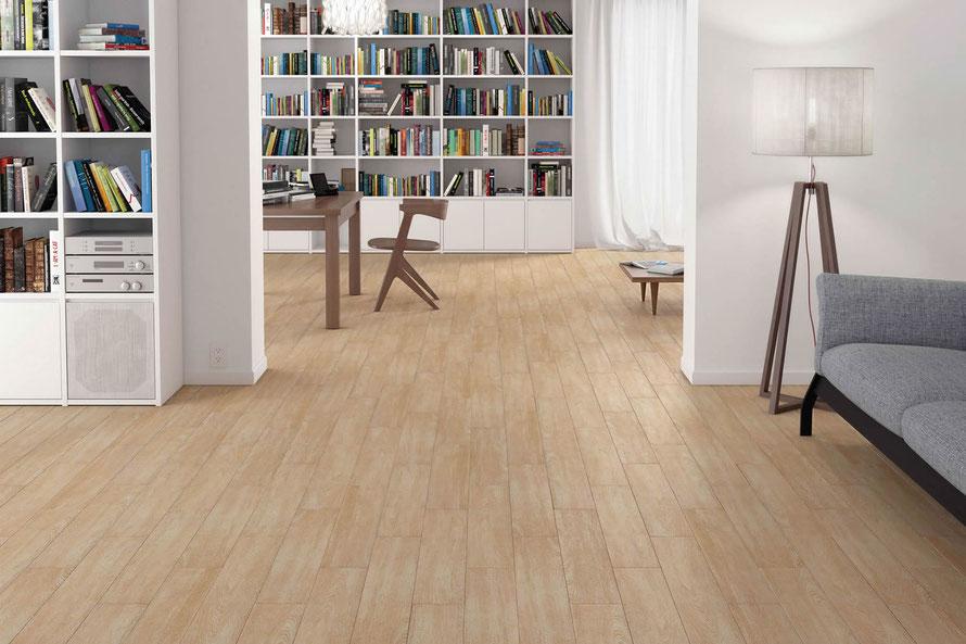Lithos pavimento colore faggio