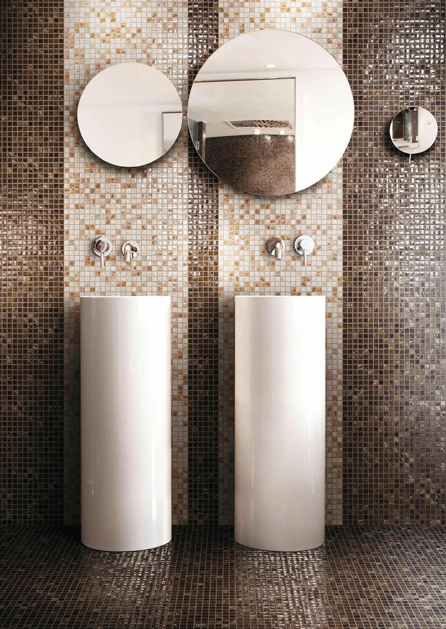 Piastrelle Bagno Mosaico Viola mosaico - casaeco pavimenti e rivestimenti in ceramica