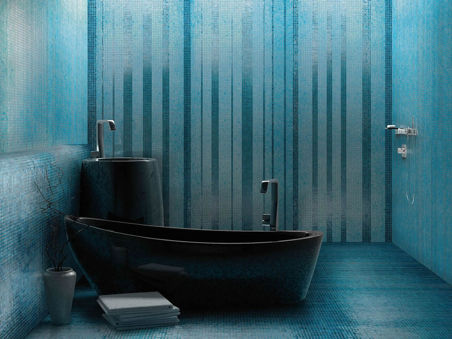 Mosaico casaeco pavimenti e rivestimenti in ceramica - Posa mosaico bagno ...