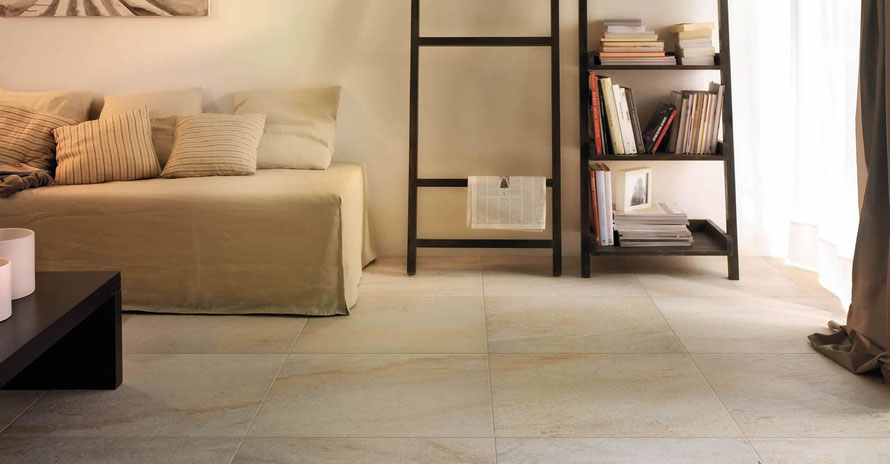 Pavimento effetto pietra casaeco pavimenti e for Piastrelle 80x80