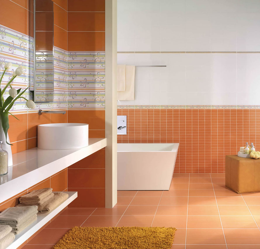 Mattonelle bagno casaeco pavimenti e rivestimenti in - Mattonelle bagno prezzi ...