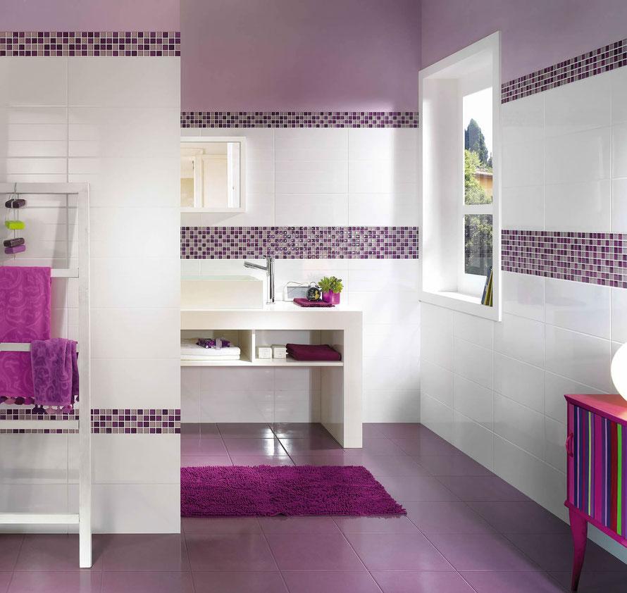 Mattonelle bagno casaeco pavimenti e rivestimenti in for Mosaicos banos modernos