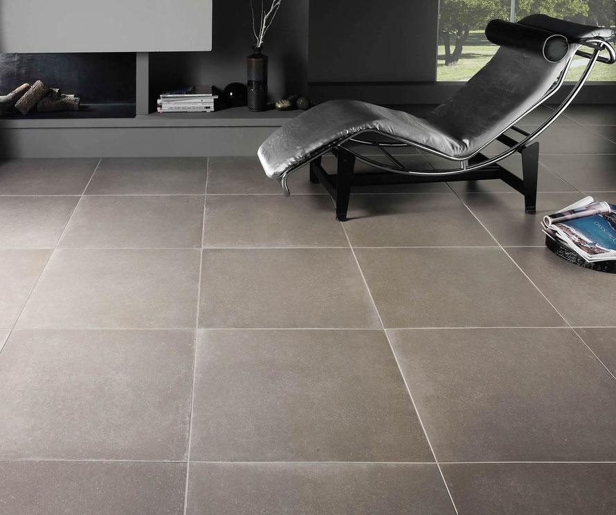 pavimento moderno effetto cemento