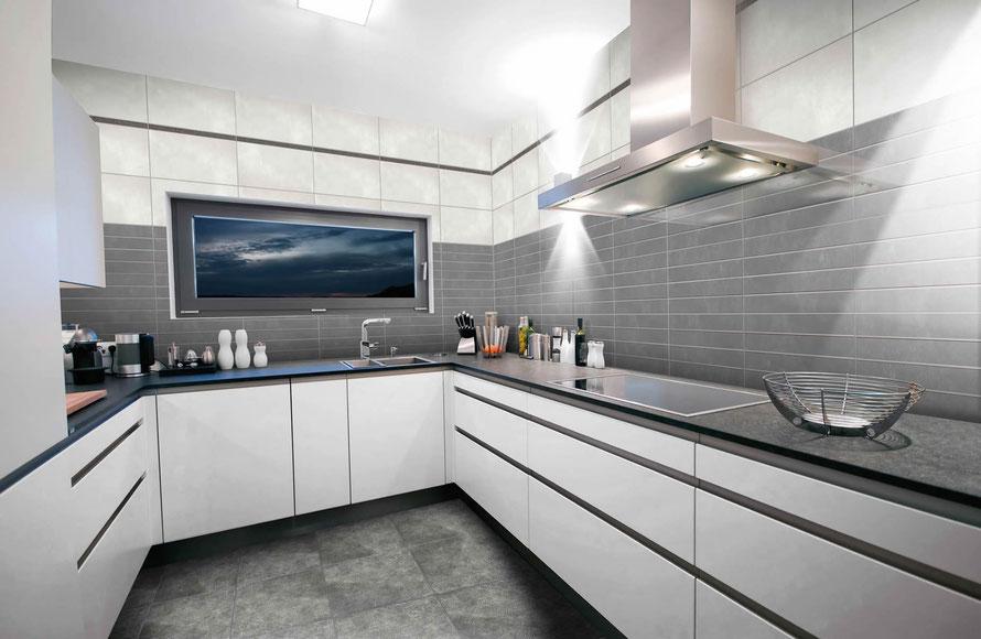 Mattonelle bagno casaeco pavimenti e rivestimenti in ceramica rubinetterie per bagno - Rivestimento piano cucina ...