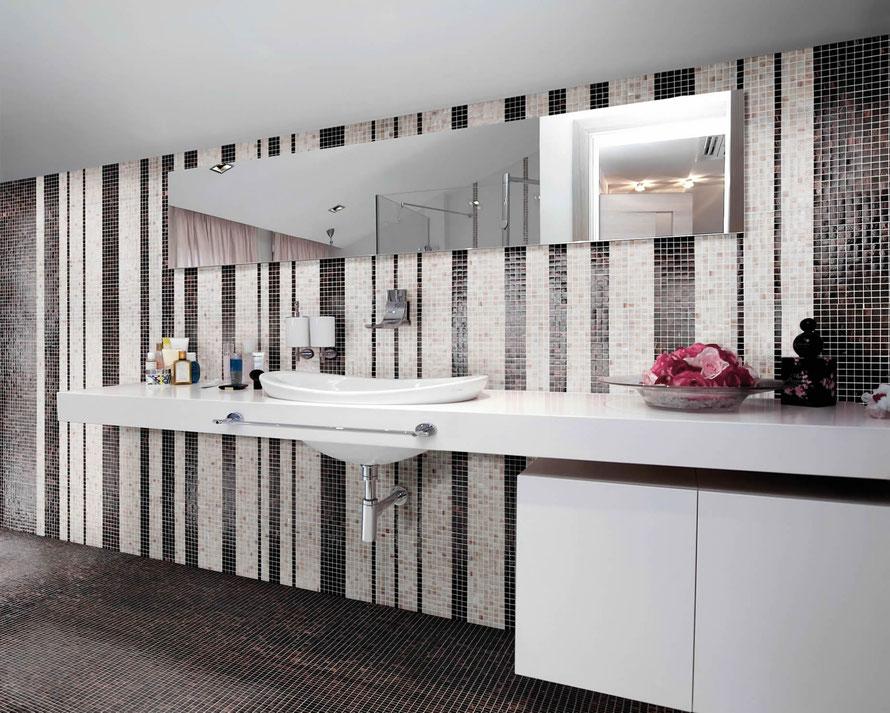 Mosaico casaeco pavimenti e rivestimenti in ceramica rubinetterie