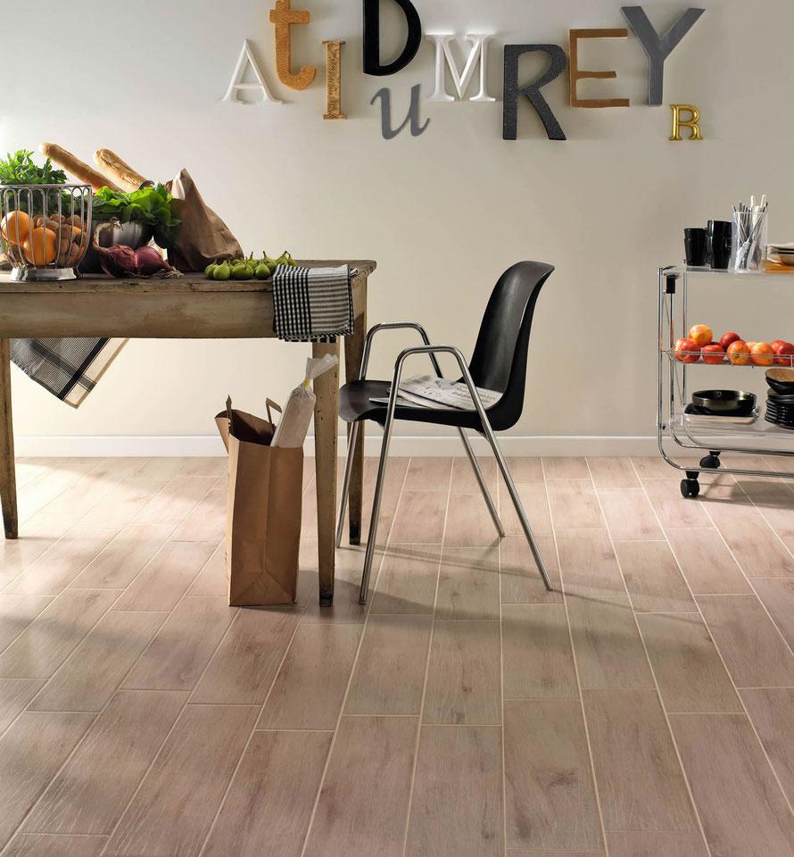Gres porcellanato effetto legno casaeco pavimenti e - Pavimento per cucina ...