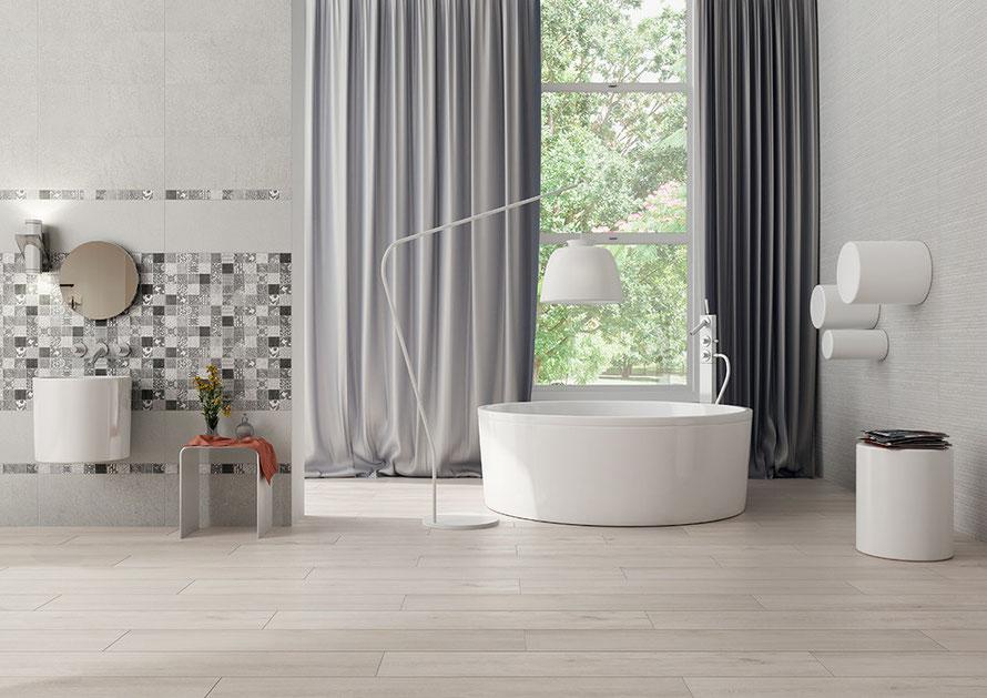 Rivestimento bagno moderno