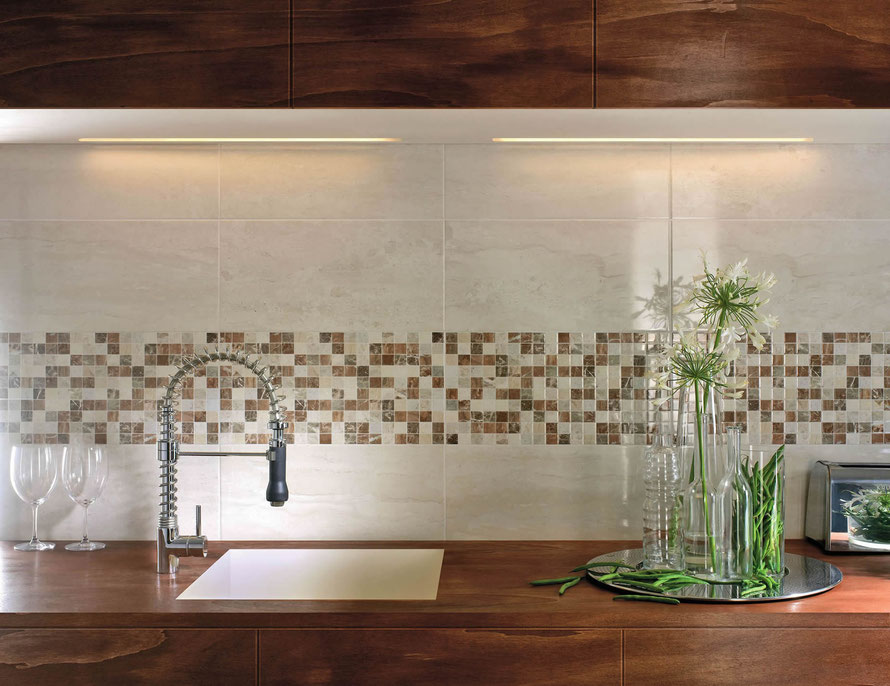 Piastrelle e rivestimenti per cucine a modena mosaico cucina