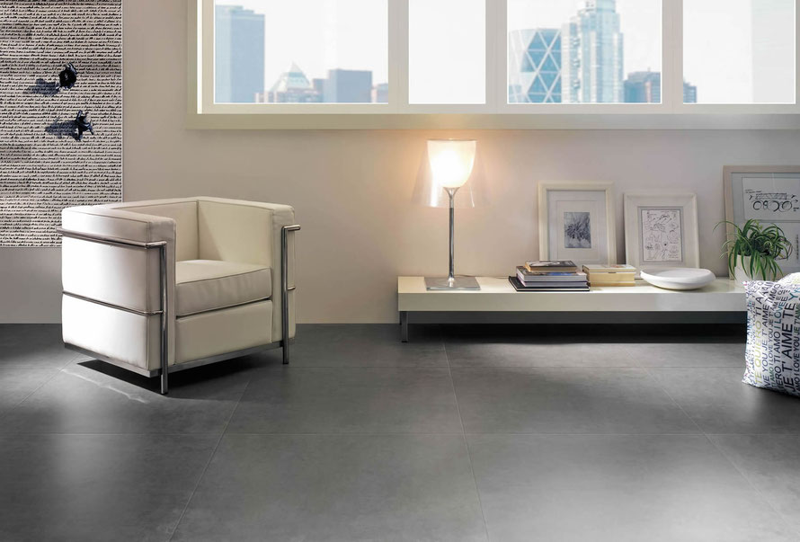 Serie Cosmos 60x60 colore grigio.