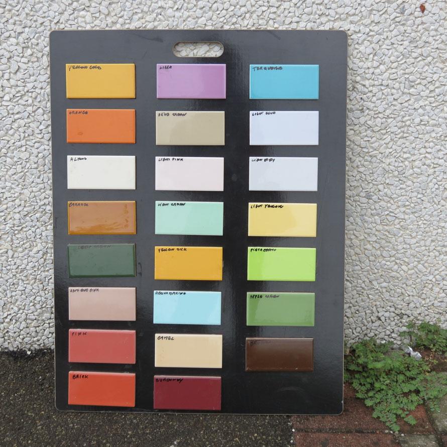 7,5x15 Rivestimento in vari colori 1a scelta Euro 6 mq.